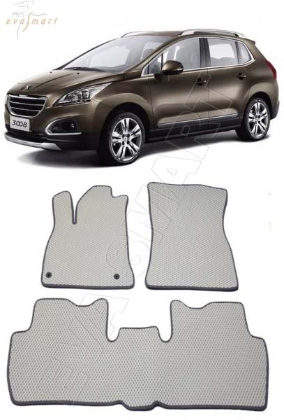 Peugeot 3008 I 2008 - 2016 коврики EVA Smart