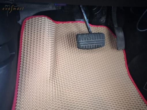 Peugeot 4007 7 мест 2007 - 2012 коврики EVA Smart
