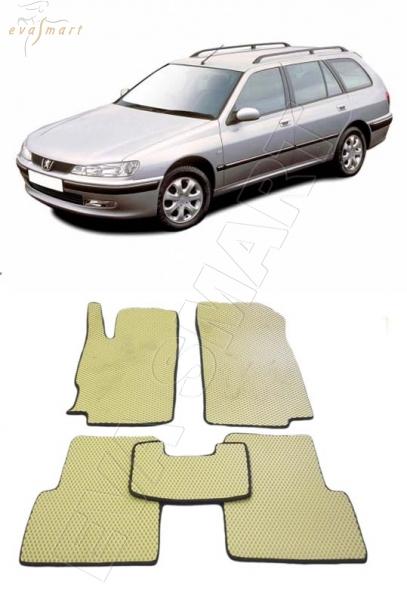 Peugeot 406 универсал 1996 - 2004 Автоковрики 'EVA Smart'