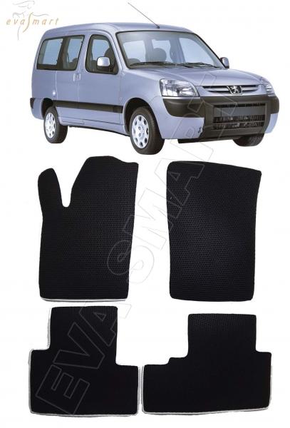Peugeot Partner I 2002 - 2012 коврики EVA Smart