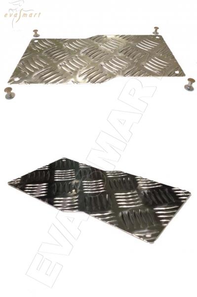 Подпятник металлический (алюминиевый) Россия