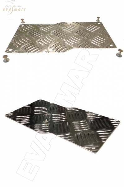 Подпятник металлический (алюминиевый)
