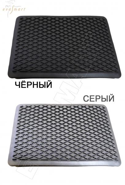 """Подпятник полимерный (ТЭП) чёрный """"ромб"""""""