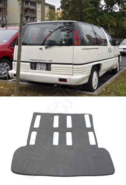 Pontiac Trans Sport багажник 1989 - 1996 Автоковрики 'EVA Smart'