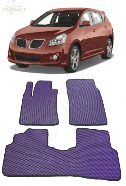 Pontiac Vibe II 2008-2011 коврики EVA Smart