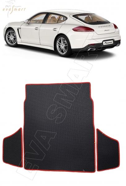 Porsche Panamera 2013 - 2016  коврик в багажник EVA Smart