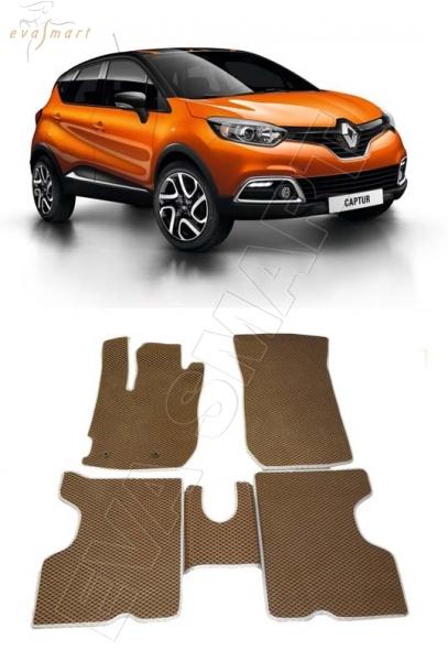 Renault Kaptur 2016 - н.в. коврики EVA Smart