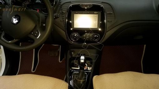Renault Captur 2016 - н. в. Автоковрики 'EVA Smart'