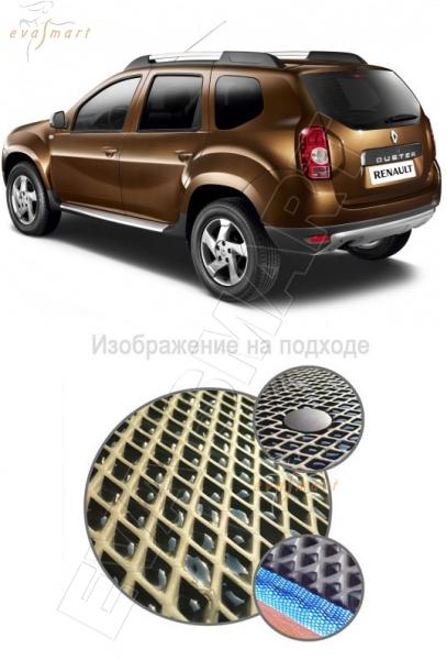 Renault Duster I 2011 - н.в. коврик в багажник 4х2 EVA Smart