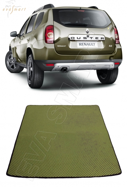 Коврик багажника EVA Smart для Renault Duster 4х4 2011 -