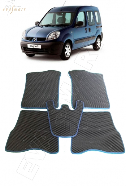 Renault Kangoo I 1998 - 2008 коврики EVA Smart
