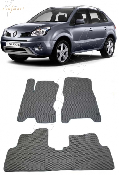 Renault Koleos 2013 - н. в. Автоковрики 'EVA Smart'