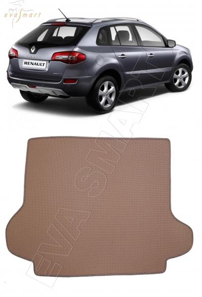 Renault Koleos I коврик в багажник 2008 - 2011 EVA Smart