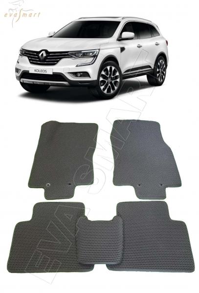 Renault Koleos II 2016 - н. в. Автоковрики 'EVA Smart'