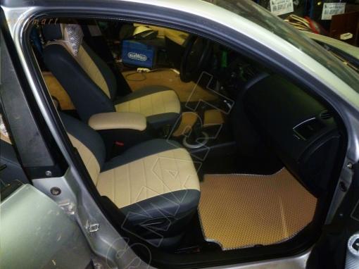 Renault Megane III 5d 2009 - н. в. Автоковрики 'EVA Smart'