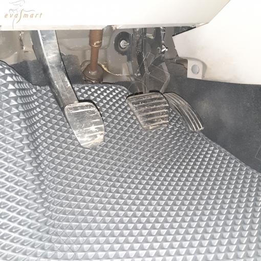 Renault Scenic II Grand 5 мест 2003-2010 коврики EVA Smart