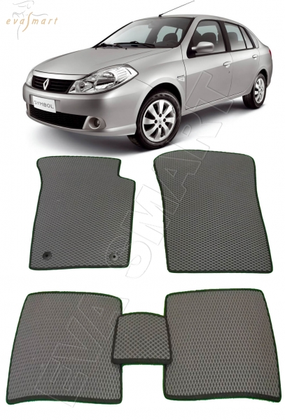 Renault Symbol ll 2008 - 2012 Автоковрики 'EVA Smart'