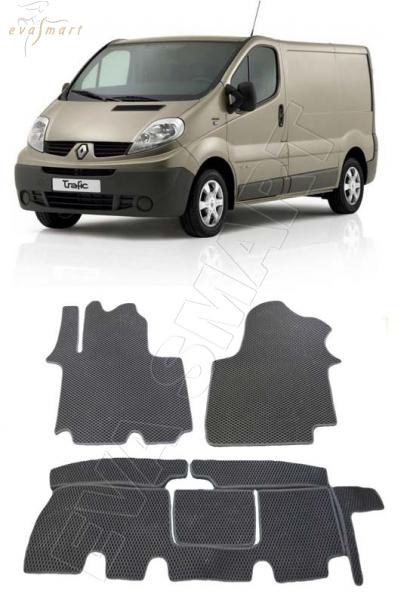 Renault Trafic (Х83) 2006 - 2014 Автоковрики 'EVA Smart'