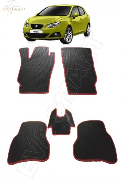 Seat Ibiza хэтчбэк 2008 - 2017 Автоковрики 'EVA Smart'