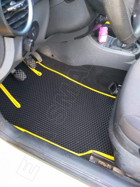 Seat Ibiza III  рестайлинг хэтчбек 2006 - 2008 коврики EVA Smart