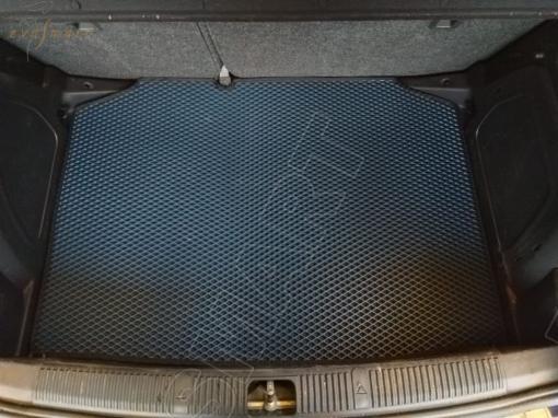Skoda Fabia II 2007 - 2014 коврик в багажник EVA Smart