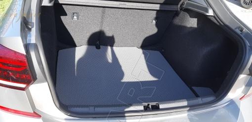 Skoda Rapid II 2020 - н.в. коврик в багажник EVA Smart