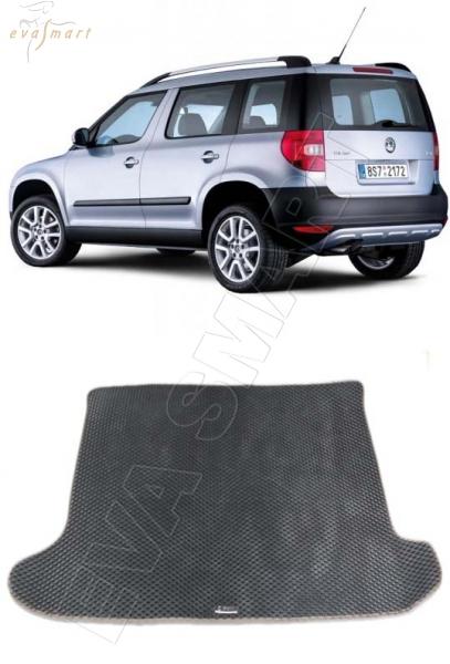 Skoda Yeti 2009 - 2018 коврик в багажник EVA Smart