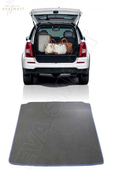 Ssang Yong Rexton II багажник 2006 - 2012 Автоковрики 'EVA Smart'