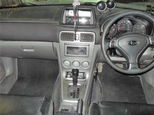 Subaru Forester ll (SG) правый руль 2003 - 2008 коврики EVA Smart