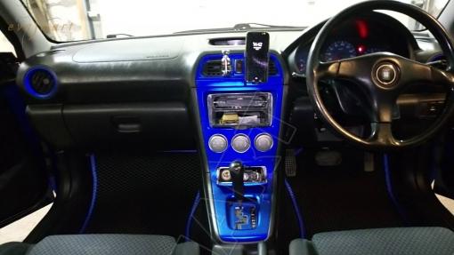 Subaru Impreza II правый руль рестайлинг 2002 - 2005 коврики EVA Smart