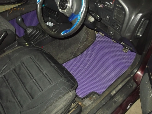 Subaru Legacy I правый руль 1989 - 1994 коврики EVA Smart