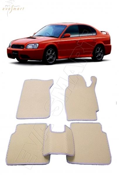Subaru Legacy III правый руль 1998 - 2003 Автоковрики 'EVA Smart'