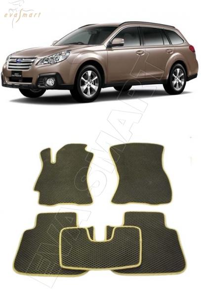 Subaru Outback IV 2009 - 2013 Автоковрики 'EVA Smart'