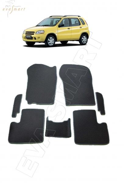 Suzuki Ignis I 2000 - 2006 коврики EVA Smart