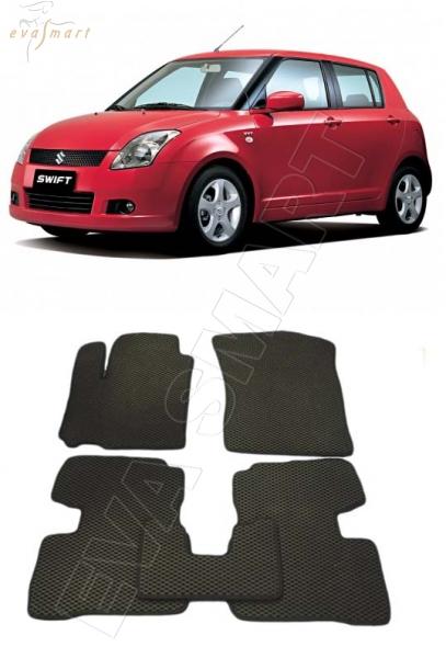 SuzukiSwiftIV 2010 - 2013 Автоковрики 'EVA Smart'