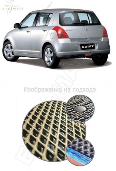 Suzuki Swift IV 2010 - 2013 Коврик багажника EVA Smart