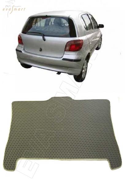 Toyota Yaris I 1999 - 2003  Коврик багажника EVA Smart