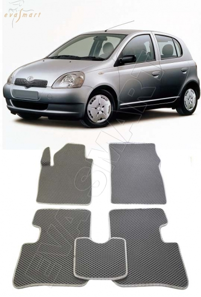 Toyota Yaris I 1999 - 2003  Автоковрики 'EVA Smart'