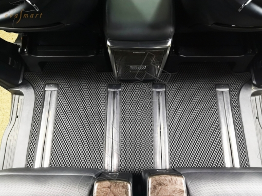 Toyota Alphard III рестайлинг 7 мест 2017 - н.в. коврики EVA Smart