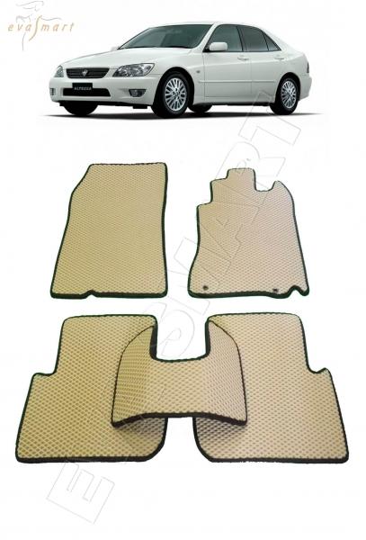 Toyota Altezza правый руль 1998-2005 Автоковрики 'EVA Smart'