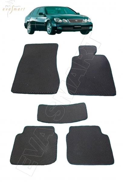 Toyota Aristo правый руль 1997 - 2004 Автоковрики 'EVA Smart'