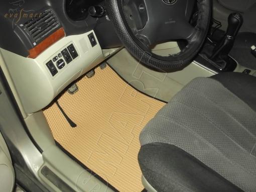 Toyota Avensis II 2003 - 2009 коврики EVA Smart