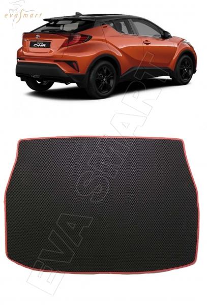 Toyota C-HR I 2016 - 2019 коврик в багажник EVA Smart