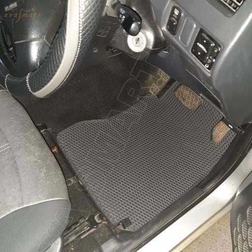 Toyota Cami I (J100) рестайлинг правый руль 2000 - 2006 коврики EVA Smart