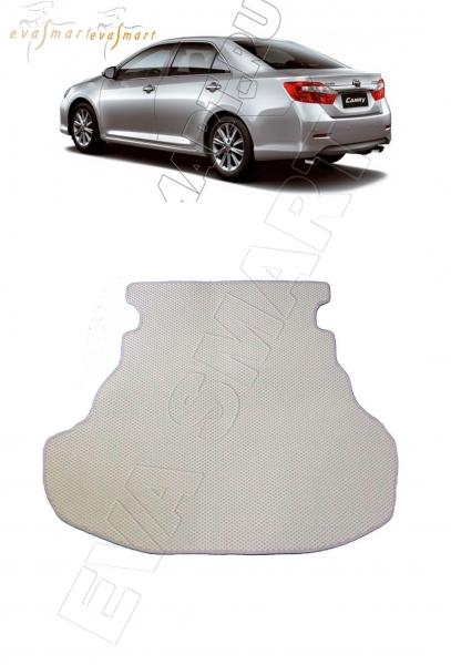 Toyota Camry VII (XV50) 2011 - 2018 коврик в багажник EVA Smart