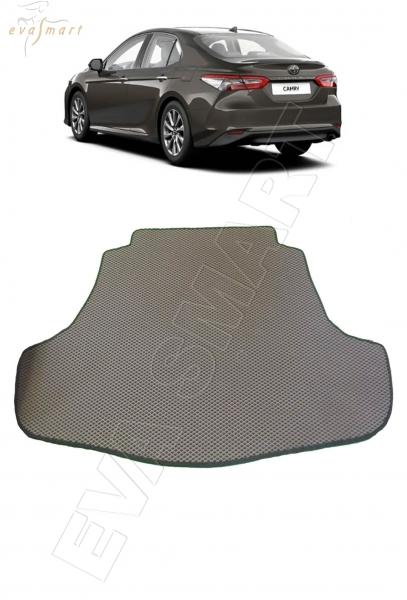 Toyota Camry VIII (XV70) вариант макси 3d 2017 - н.в. коврики EVA Smart