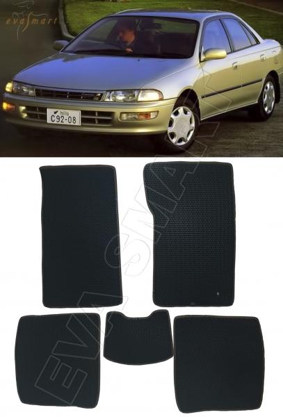 Toyota Carina T190 правый руль 1992 - 1996 коврики EVA Smart