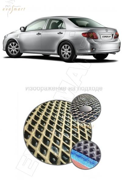 Toyota Corolla (E150) 2006 - 2013 Автоковрики 'EVA Smart'