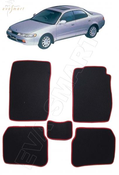 Toyota Corolla Ceres правый руль 1992 - 1998 коврики EVA Smart