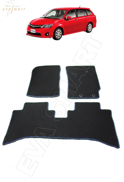 Toyota Corolla Fielder правый руль NKE 165 2012 - 2015 коврики EVA Smart